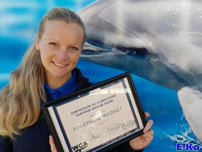 Certified Marine Guide Josephine . E-Ko >WCA