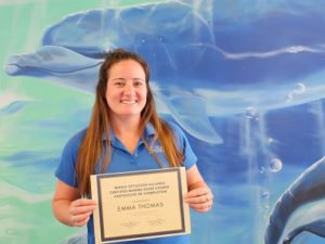 Certified Marine Guide Emma Thomas