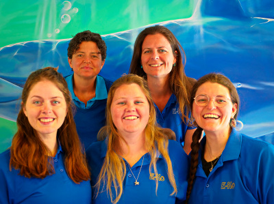 Certified Marine Guides on WCA Course