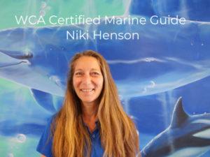 WCA Certified Marien Guide Niki Henson
