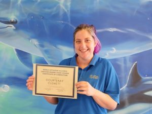 Certified Marine Guide Courtenay Clemett