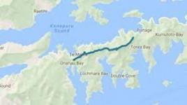 Map to Mistletoe from Torea